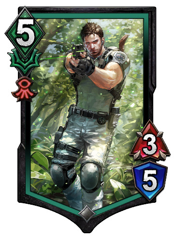 Chris Redfield BASIC